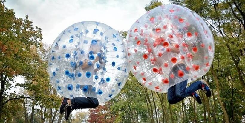 Co to jest bubble football?